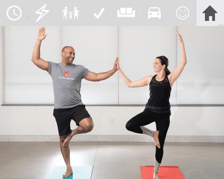 Doing Yoga at Home